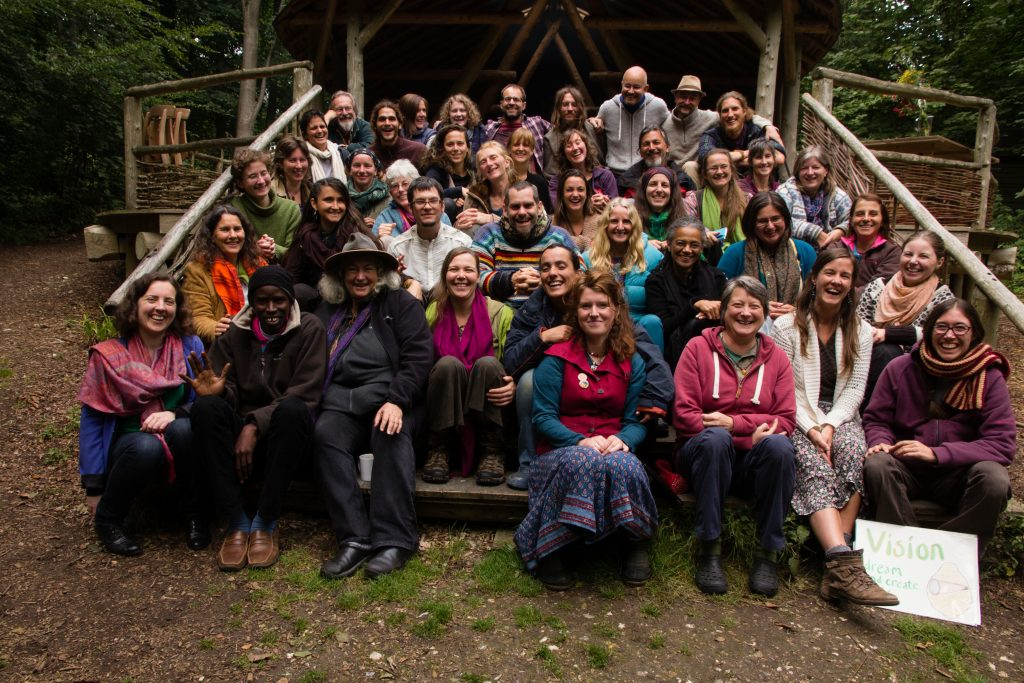 Social permaculture family