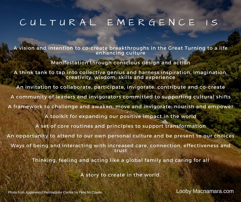 What is Cultural Emergence_